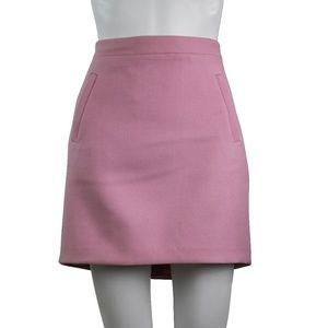 J Crew Wool High Waist Mini Skirt w/ Pockets